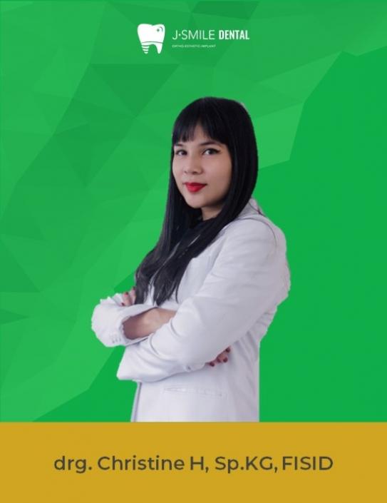 drg. Christine H, Sp.KG, FISID